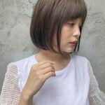 前上がりボブで柔らかくかわいい印象に♡おすすめヘア~アレンジ12選