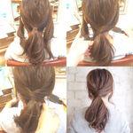 簡単セルフヘアアレンジ!ロング・ミディアム向けのゆる可愛いヘアアレンジ術を写真でやり方解説♡