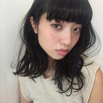 【面長・丸顔別】モテ髪NO.1♡黒髪ロング×パーマのヘアカタ特集