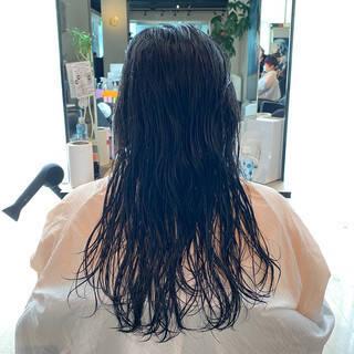 お手入れ簡単!! 内巻き 美シルエット 似合わせカットヘアスタイルや髪型の写真・画像