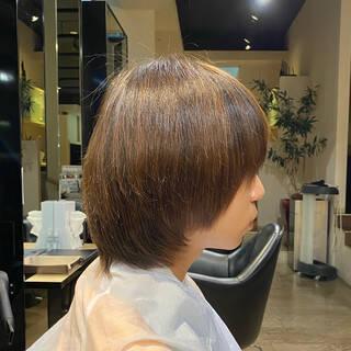 ナチュラル ショート ノースタイリング かっこいいヘアスタイルや髪型の写真・画像