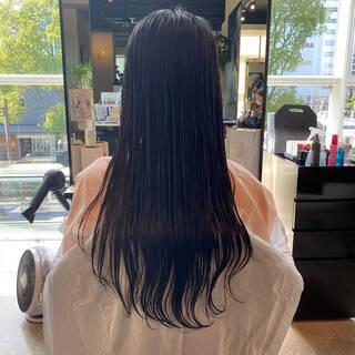 レイヤーカット 艶髪 大人可愛い フェミニンヘアスタイルや髪型の写真・画像