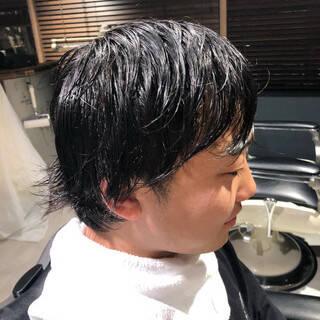 メンズヘア ナチュラル メンズスタイル ショートヘアスタイルや髪型の写真・画像