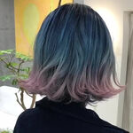 どこまでもクリアで優しげなマーメイドブルーが今年の可愛い髪形♡
