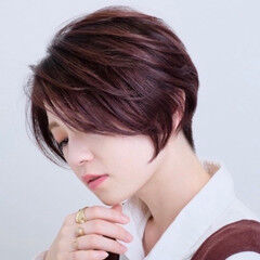 刈り上げ女子 ベリーショート ショート ショートヘア ヘアスタイルや髪型の写真・画像