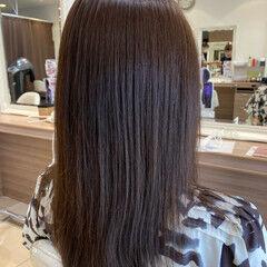 ナチュラル 初カラー イルミナカラー ツヤ髪 ヘアスタイルや髪型の写真・画像