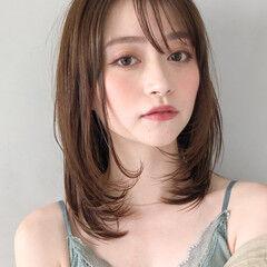 お団子アレンジ 黒髪 前髪あり カラートリートメント ヘアスタイルや髪型の写真・画像
