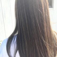 ブリーチ必須 ハイライト バレイヤージュ エアータッチ ヘアスタイルや髪型の写真・画像