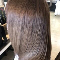 髪の病院 名古屋市守山区 ミディアム ヘアカラー ヘアスタイルや髪型の写真・画像