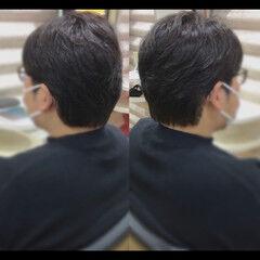 メンズショート ショート メンズスタイル ベリーショート ヘアスタイルや髪型の写真・画像