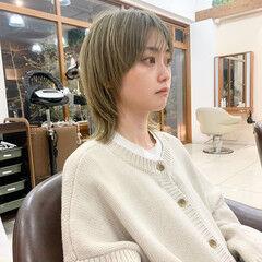 マッシュウルフ ウルフカット ウルフ女子 ショート ヘアスタイルや髪型の写真・画像