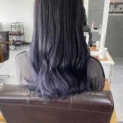 ナチュラル 圧倒的透明感 セミロング 透明感カラー ヘアスタイルや髪型の写真・画像