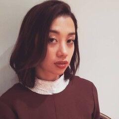 モテ髪 アンニュイほつれヘア エレガント モテボブ ヘアスタイルや髪型の写真・画像