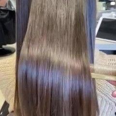 ミディアム フェミニン グラデーションカラー ナチュラルグラデーション ヘアスタイルや髪型の写真・画像