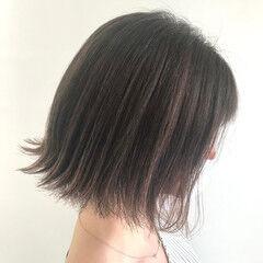 大人ハイライト 極細ハイライト ハイライト エレガント ヘアスタイルや髪型の写真・画像