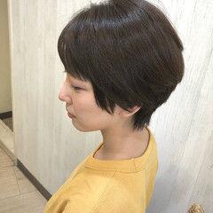 ナチュラル ショート ショートヘア 外国人風フェミニン ヘアスタイルや髪型の写真・画像
