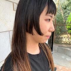 大人カジュアル クール 姫カット モード ヘアスタイルや髪型の写真・画像