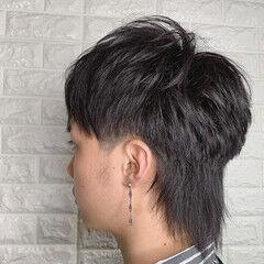 マッシュウルフ ストリート ネオウルフ メンズ ヘアスタイルや髪型の写真・画像