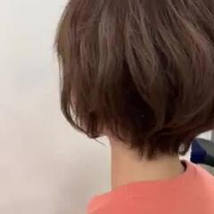 ショートボブ ミニボブ 簡単スタイリング ショートヘア ヘアスタイルや髪型の写真・画像