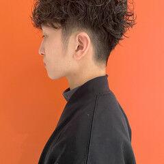 メンズパーマ メンズ ストリート メンズヘア ヘアスタイルや髪型の写真・画像
