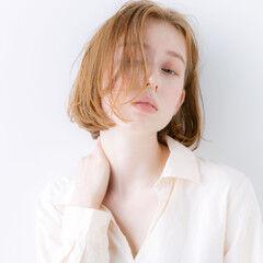 韓国ヘア 無造作パーマ ナチュラル 無造作カール ヘアスタイルや髪型の写真・画像