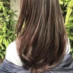 最新トリートメント サラサラ トリートメント ナチュラル ヘアスタイルや髪型の写真・画像
