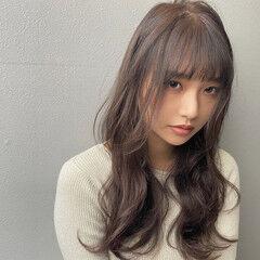 レイヤーカット 鎖骨ミディアム セミロング ミディアムレイヤー ヘアスタイルや髪型の写真・画像