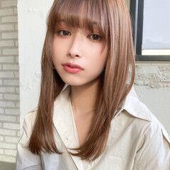デート 縮毛矯正 ナチュラル 縮毛矯正ストカール ヘアスタイルや髪型の写真・画像