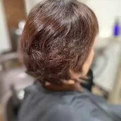 髪質改善カラー エレガント ベリーショート 髪質改善トリートメント ヘアスタイルや髪型の写真・画像