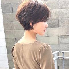 ハンサムショート ミニボブ ショートカット ショートヘア ヘアスタイルや髪型の写真・画像
