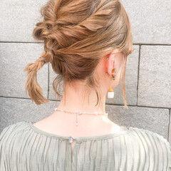 ヘアアレンジ セルフヘアアレンジ ショート 簡単ヘアアレンジ ヘアスタイルや髪型の写真・画像