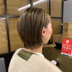 ボブ レイヤーボブ ショートボブ レイヤーカット ヘアスタイルや髪型の写真・画像