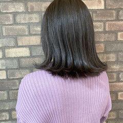 艶髪 N.オイル イルミナカラー 外ハネ ヘアスタイルや髪型の写真・画像