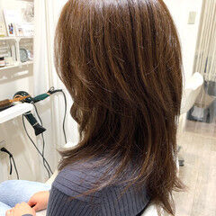 ひし形シルエット レイヤーカット エレガント 美シルエット ヘアスタイルや髪型の写真・画像