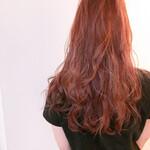 透明感 透明感カラー ロング アンニュイほつれヘア