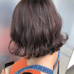 ナチュラル ミディアム ブランジュ ヘアスタイルや髪型の写真・画像