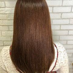 ロング oggiotto 髪質改善トリートメント ナチュラル ヘアスタイルや髪型の写真・画像