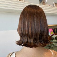 シアーベージュ ベージュ ナチュラルベージュ 透け感 ヘアスタイルや髪型の写真・画像