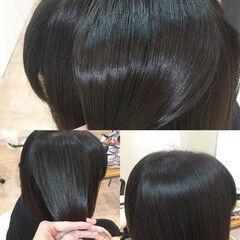 髪質改善トリートメント エレガント トリートメント ツヤ髪 ヘアスタイルや髪型の写真・画像