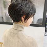 ベリーショート 黒髪 ショートボブ ショートヘア