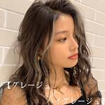 うぶ毛ハイライト PEEK-A-BOO ミディアム スライシングハイライト