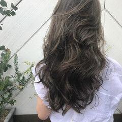 大人女子 3Dカラー 360度どこからみても綺麗なロングヘア ナチュラル ヘアスタイルや髪型の写真・画像