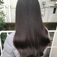 最新トリートメント 髪質改善トリートメント ダメージレス ロング ヘアスタイルや髪型の写真・画像