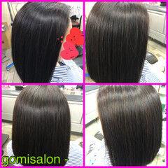 髪質改善トリートメント ナチュラル セミロング COCドライカット ヘアスタイルや髪型の写真・画像