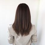 エレガント ストレート 髪質改善トリートメント ロング