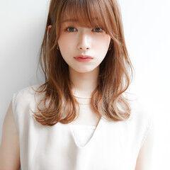 セミディ 似合わせカット 髪質改善トリートメント レイヤーカット ヘアスタイルや髪型の写真・画像