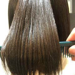 ナチュラル ボブ 最新トリートメント 髪質改善トリートメント ヘアスタイルや髪型の写真・画像