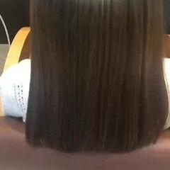 ナチュラル 美髪 ロング トリートメント ヘアスタイルや髪型の写真・画像