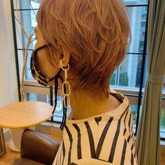 30代 モード ハイトーンカラー 40代 ヘアスタイルや髪型の写真・画像