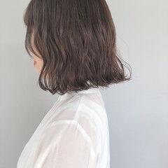 ナチュラル ミルクティーグレージュ ミルクグレージュ 大人かわいい ヘアスタイルや髪型の写真・画像